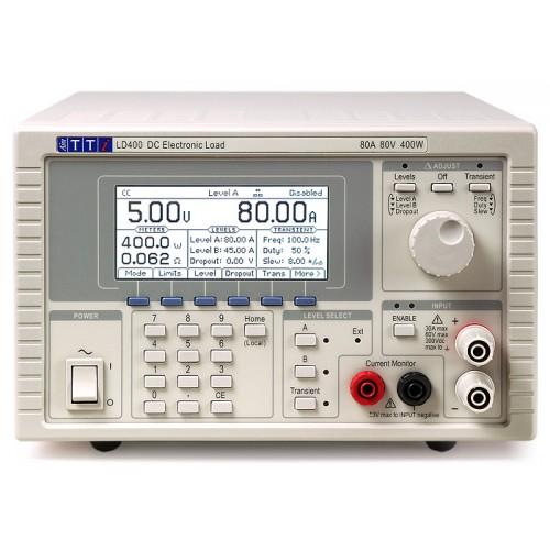 AimTTI LD400 Electronic DC Loads - 80A, 80V, 400W