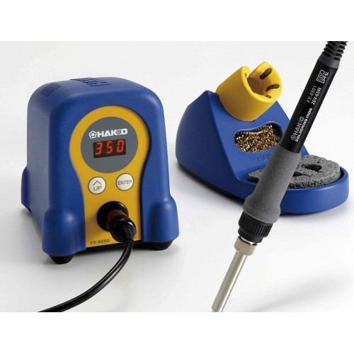 HAKKO FX-888D genuine soldering station 220V, blue and yellow