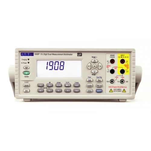 AimTTi 1908P 5½ digit digital multimeter with USB, RS232, GPIB and LAN