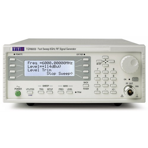 AimTTI TGR6000 6GHz RF Signal Generator with Sweep