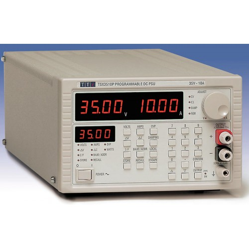 AimTTi TSX3510P 35V/10A High power, high performance dc bench power supplies RS-232 and GPIB interfaces as standard