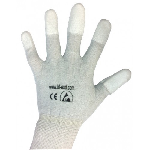 BF000016 Fingers PU ESD Gloves size M