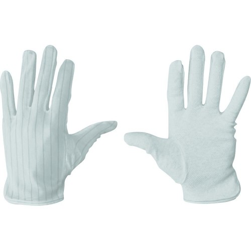 BF000068 ESD Gloves with antislip palm size S