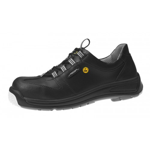 Abeba 31362 ESD Shoes in black leather with lacing THE LAST SIZE 41