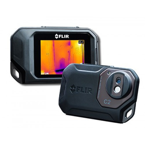 FLIR C2 powerful, compact thermal imaging system with MSX