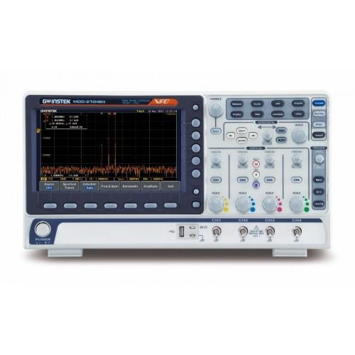 GW Instek MDO-2204EG 200MHz 4ch Multi Domain Oscilloscope