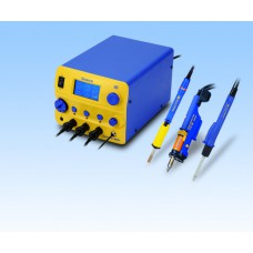 HAKKO FM-206 3-Port Rework Station: Soldering, Desoldering and Hot Air rework needs