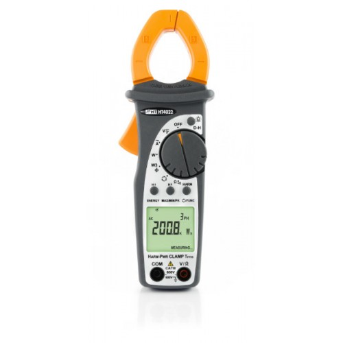 HT Italia HT4022 Professional clamp meter AC TRMS 400A with Power/Harmonics measurement