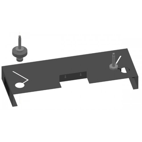 Iteco 8301.027 Worktop with two easy insertions pins