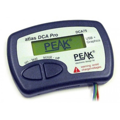 Peak Electronic Atlas DCA Pro - Advanced Semiconductor Analyser (Model DCA75)