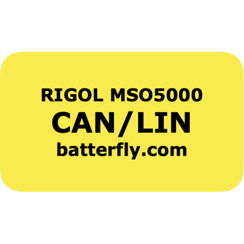RIGOL MSO5000 trigger and decode CAN and LIN