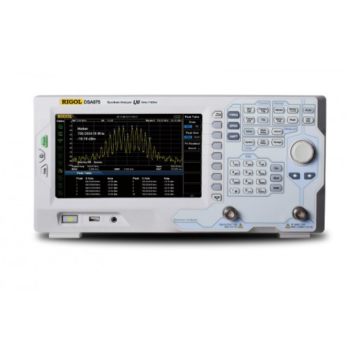 RIGOL DSA875-TG spectrum analyzer up to 7.5GHz with tracking generator