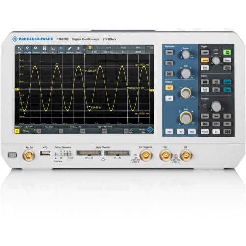 Rohde & Schwarz RTB2K-102 Oscilloscopio 100MHz 2 Canali