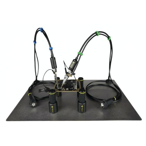 SensePeek PCBite kit with 2x SP100 100 MHz handsfree oscilloscope probes