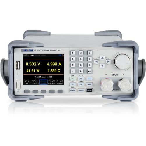 Siglent SDL1020X-E DC Electronic Load 150V 30A 200W 1mV/1mA
