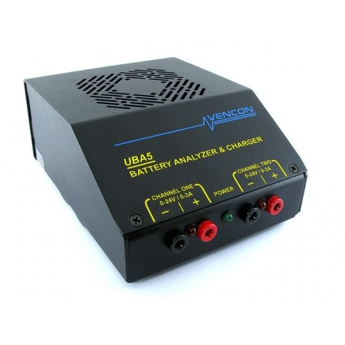 Vencon Technologies UBA5PS battery analyzer up to 18.5V