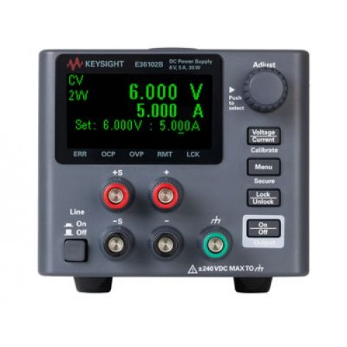 Keysight E36102B programmable DC power supply