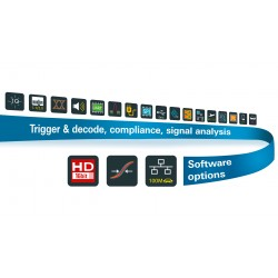 Rohde & Schwarz, trigger and decode software options